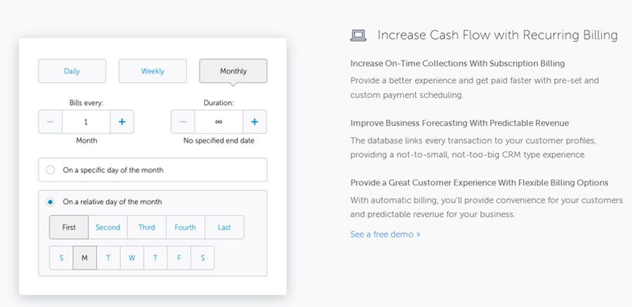 Ways To Accept Recurring Payments In - Quickbooks online recurring invoice