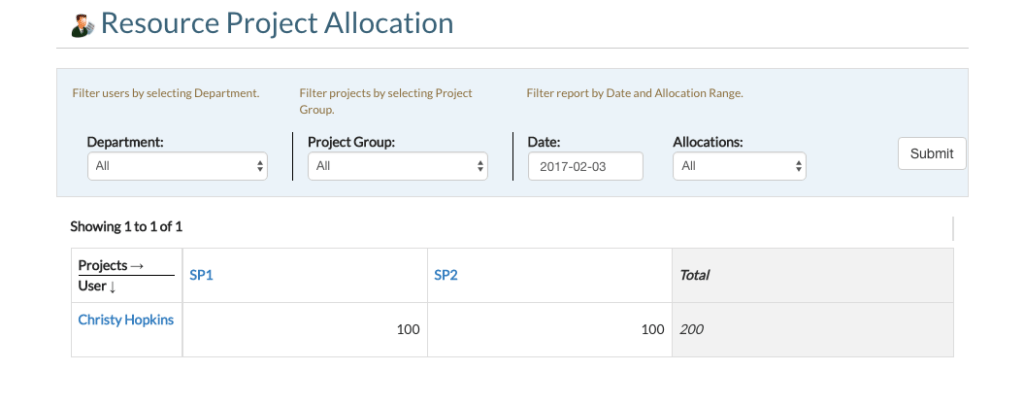 bizmerlin project allocation hr software