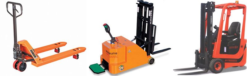 How to ship LTL freight - pallet jacks and forklifts