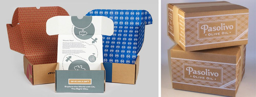 Custom boxes and printed mailers - Salazar Packaging