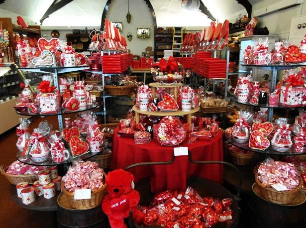 Visual Merchandising Valentines Sale