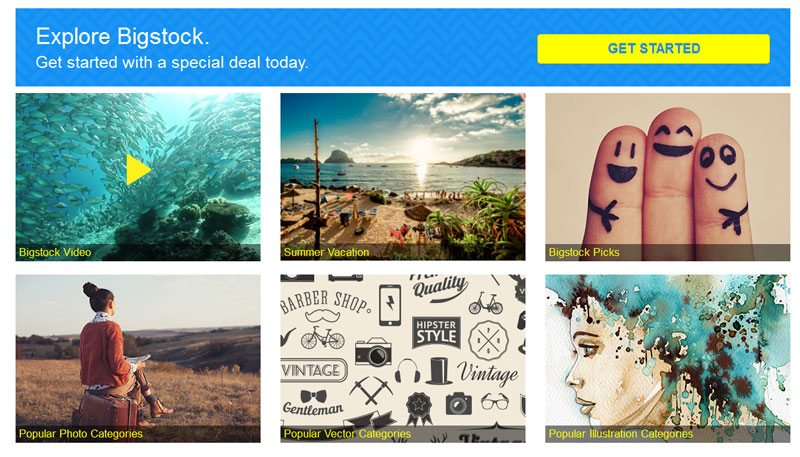 How to Sell Art Online - Bigstock stock images