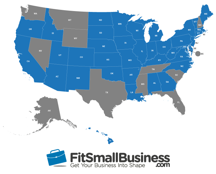 map of commuter benefits state tax laws