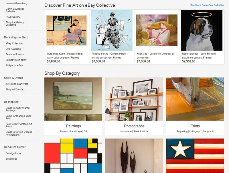 How to Sell Art Online - Ebay