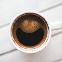 door knocking article- happy coffee