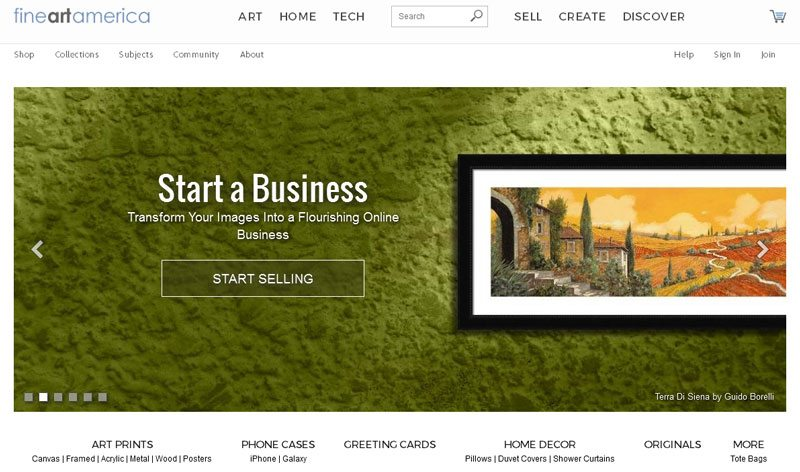 How To Sell Art Online Fine Art America