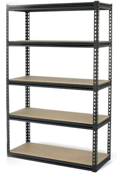 Warehouse Layout - light duty storage shelving