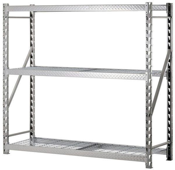 Warehouse Layout - heavy duty metal shelving
