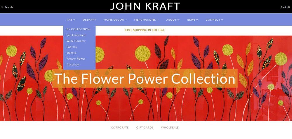 How to Sell Art Online - John Kraft Shopify Store