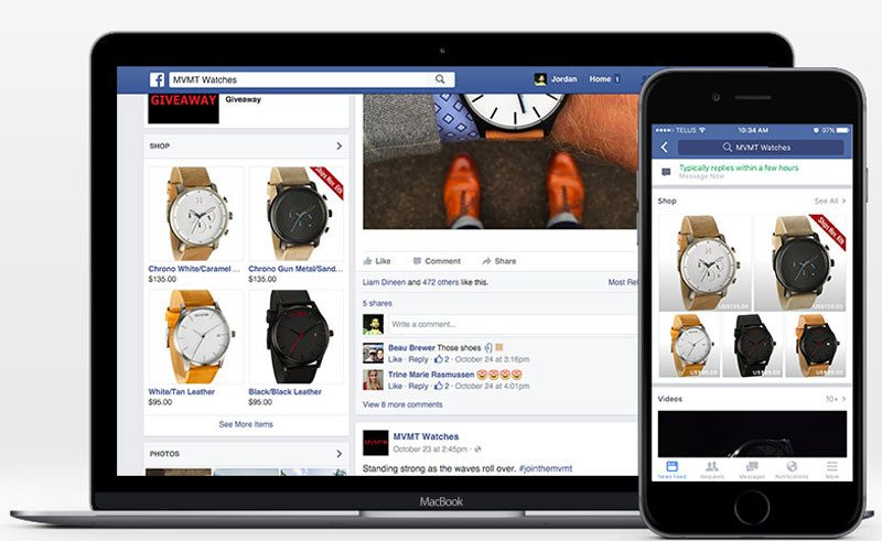 Sell Products in a Facebook Shop in 5 Easy Steps - Set up your Facebook page