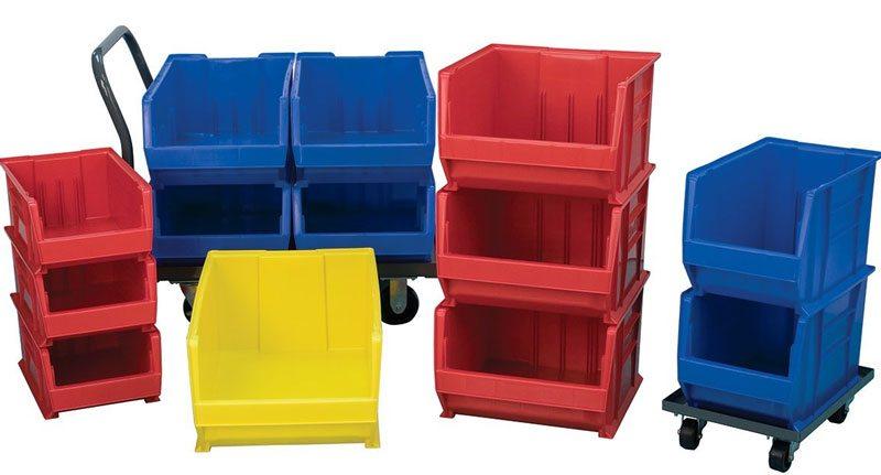 Warehouse Layout - parts bins