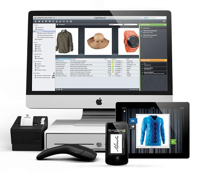 Accept credit cards - LightSpeed complete pos system setup