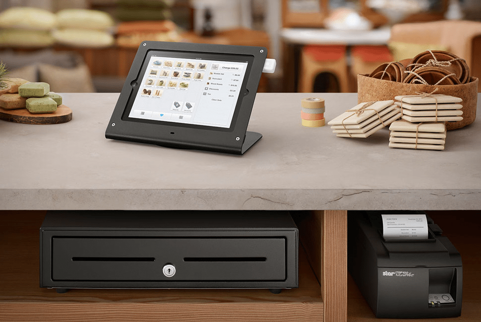 Accept credit cards - Square point of sale setup