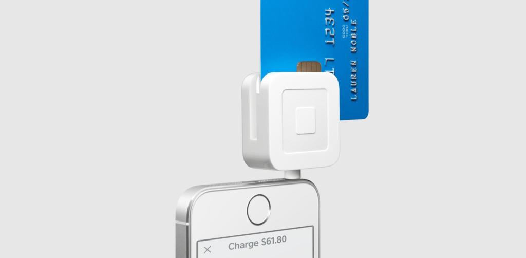 Accept credit cards - Square EMV card reader