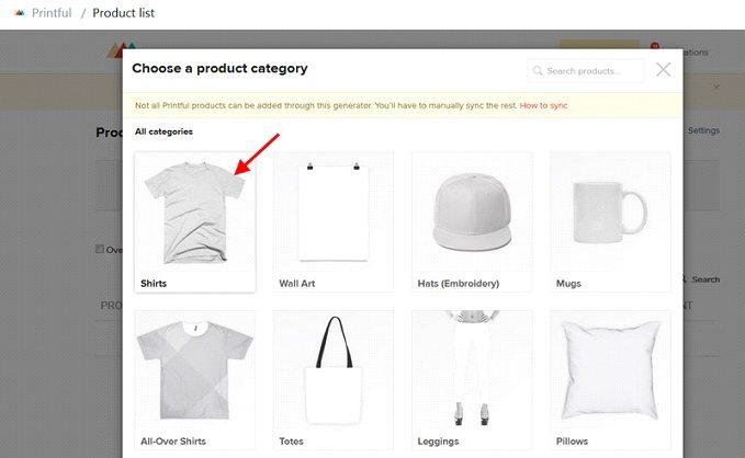 How to start a t-shirt business - select t-shirt