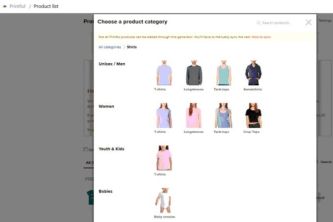 How to start a t-shirt business - select t-shirt