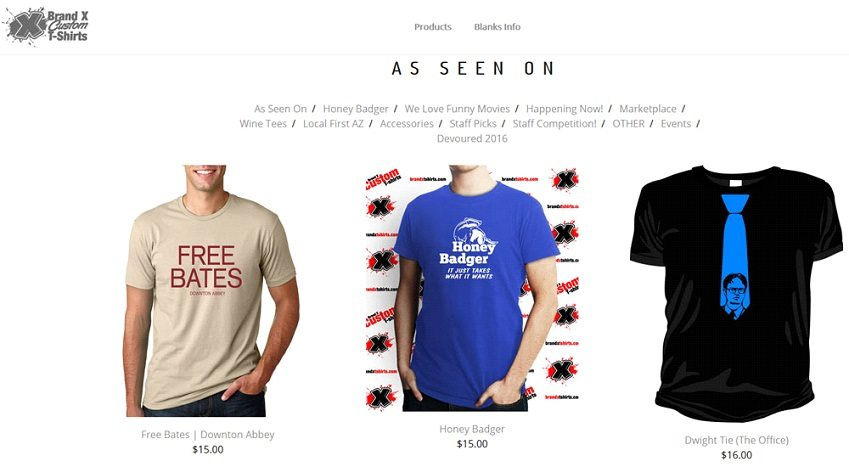 How to start a t-shirt business - selling preprinted tees