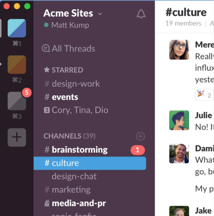 Best Messaging App for Small Businesses: Slack