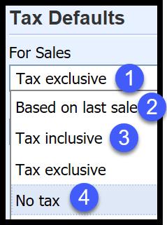 organization and financial settings in xero
