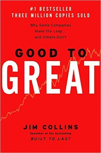Good to Great, Why Some Companies Make the Leap... and Others Don't - Best Real Estate Books