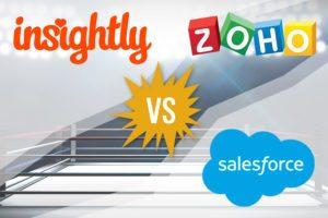 Best CRM 2017: Insightly vs Zoho vs Salesforce