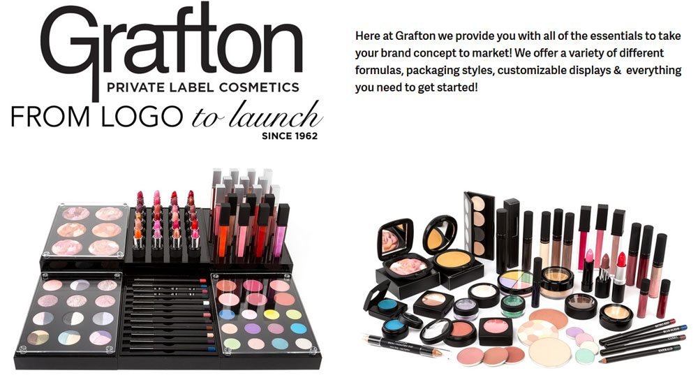 Private label cosmetics - many suppliers available