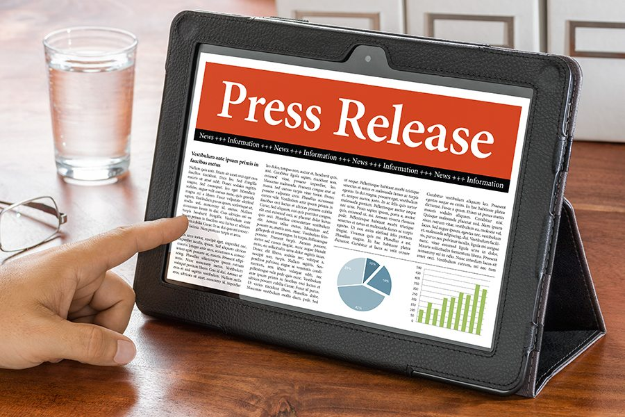 how to write press release