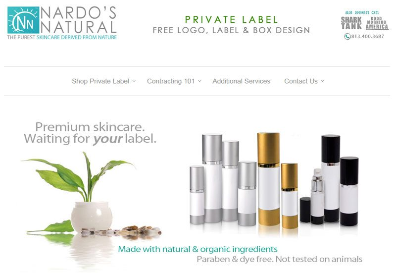 Private label cosmetics - Amazon-ready suppliers