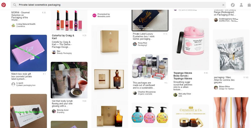 Private label cosmetics - logo ideas on Pinterest