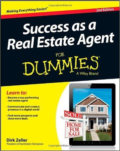 Success as a Real Estate Agent For Dummies - Best Real Estate Books