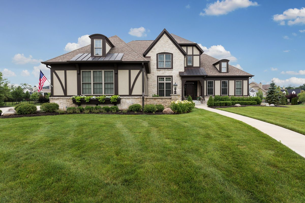 real estate photography pricing - the home aesthetic - indianapolis indiana - aerial
