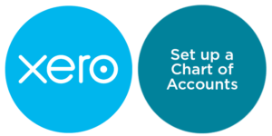 set up chart of accounts in xero