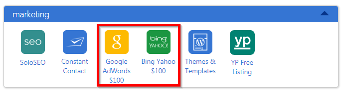Google Adwords and Bing