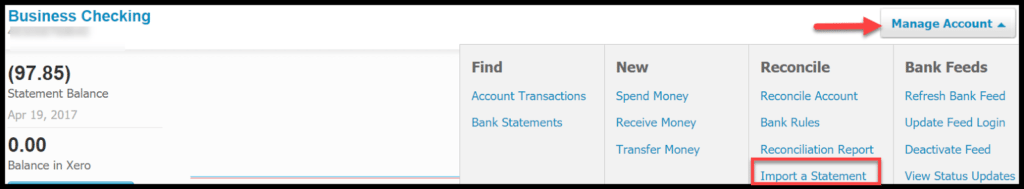 set up bank feeds in xero
