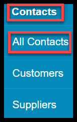 import customers and suppliers xero