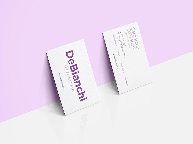 DeBianchi Real Estate - Real Estate Business Cards
