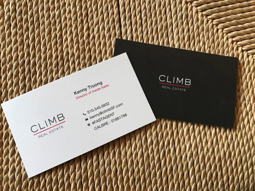 28 real estate business cards we love climb real estate real estate business cards reheart Choice Image