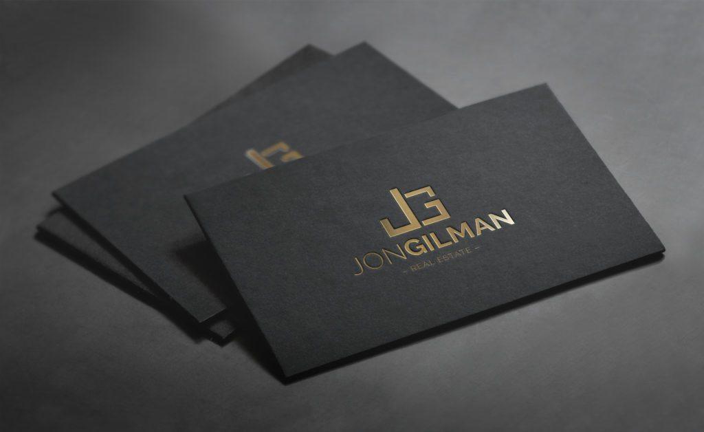 Jon Gilman - Real Estate Business Cards