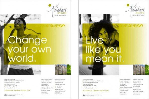 The Kalahari, Harlem - real estate ads
