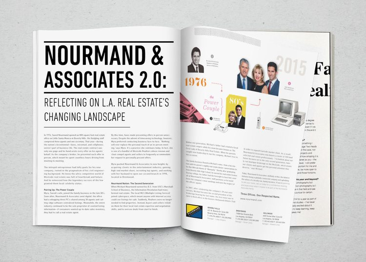 real estate ads article: Nourmand and Associates