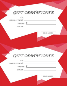 free gift certificate template 5 other powerful ways to boost sales