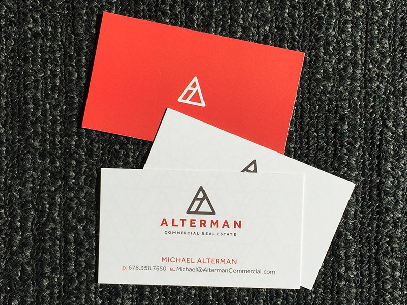 28 real estate business cards we love alterman commercial real estate real estate business cards reheart Image collections