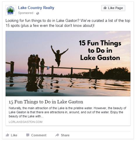 Tom Waring Facebook ad