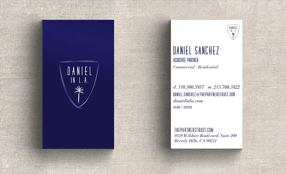 Daniel Sanchez - Real Estate Business Cards