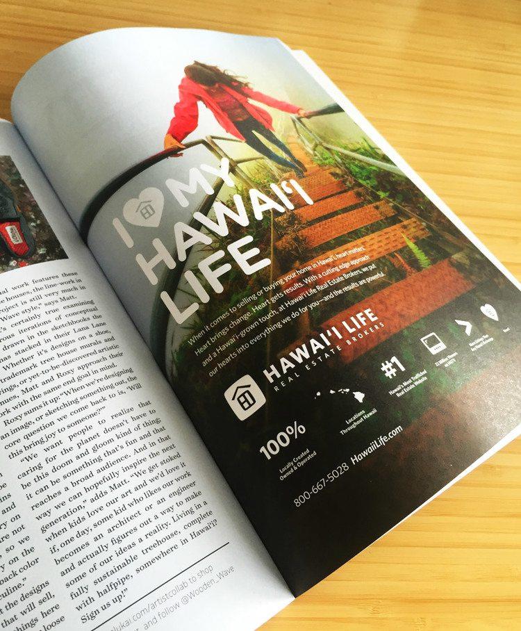 real estate ads article: Hawai'i Life