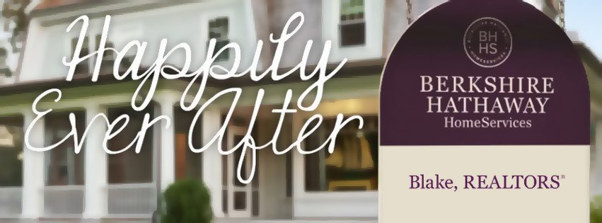 real estate ads article: Berkshire Hathaway happily ever after ad