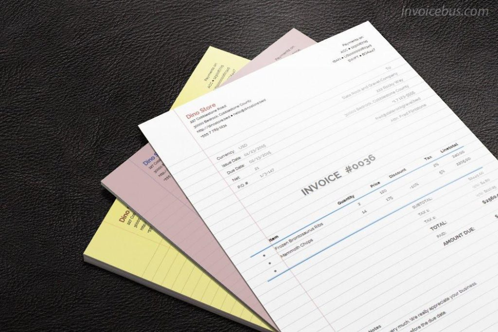 Invoice Examples What To Include  Best Practices