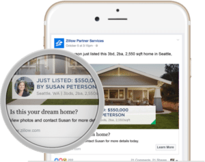 real estate ads article: Zillow ads