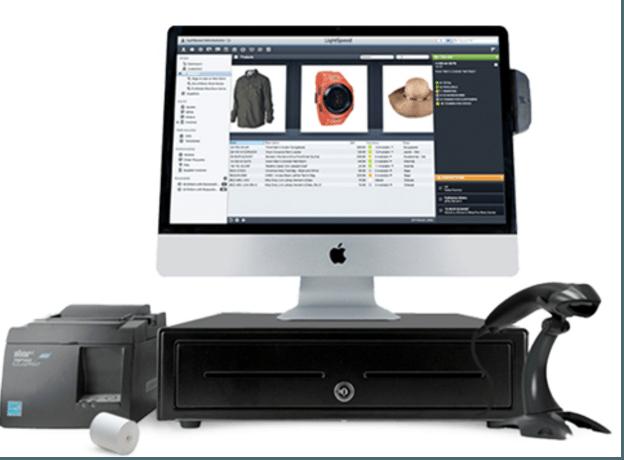 Lightspeed Retail POS System checkout register