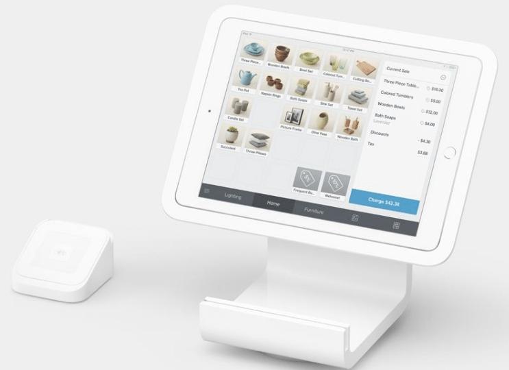 Square POS System checkout register